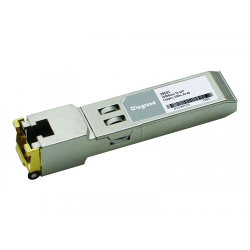 C2G - SFP (mini-GBIC) transceiver module (equivalent to: Cisco GLC-T) - GigE - 1000Base-T - RJ-45 - up to 100 m - for Cisco 5508; Catalyst 2970G, 3560, 3560E, 3560G, 3560X