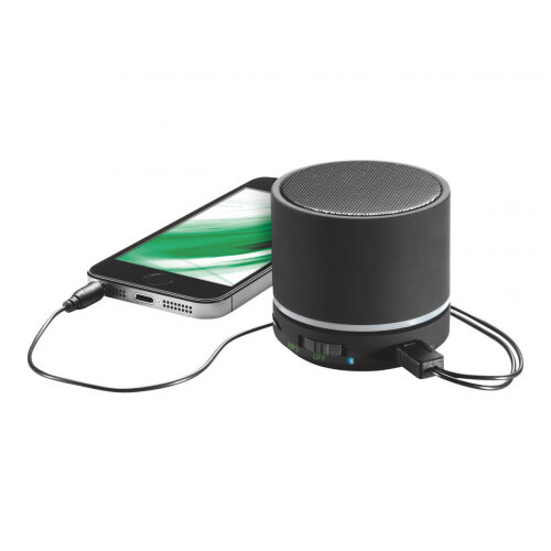 Leitz Portable Mini - Speaker - for portable use - wireless - Bluetooth - black