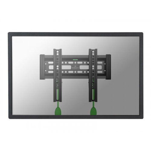 "NewStar NeoMounts TV/Monitor Wall Mount (fixed) for 10""-40"" Screen - Black - Wall mount for LCD / plasma panel - black - screen size: 10""-40"""