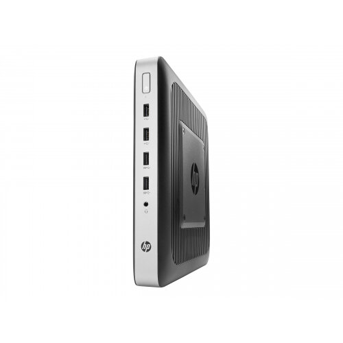 HP t630 - Thin client - Tower Desktop PC - 1 x GX-420GI 2 GHz - RAM 4 GB - flash 8 GB - Radeon R7E - GigE - HP ThinPro - monitor: none - keyboard: UK - promo