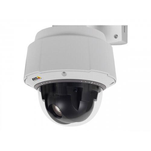 AXIS Q6055-E PTZ Dome Network Camera 50Hz - Network surveillance camera - PTZ - outdoor - vandal / weatherproof - colour (Day&ight) - 1920 x 1080 - 720p, 1080p - auto iris - motorized - LAN 10/100 - MPEG-4, MJPEG, H.264 - High PoE
