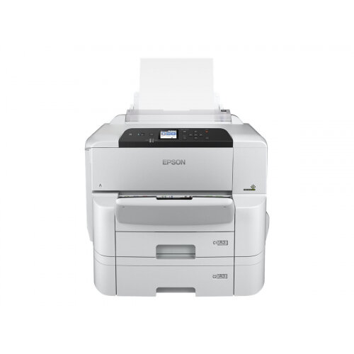 Epson WorkForce Pro WF-C8190DTW - Printer - colour - Duplex - ink-jet - A3/Ledger - 4800 x 1200 dpi - up to 35 ppm (mono) / up to 35 ppm (colour) - capacity: 835 sheets - Gigabit LAN, NFC, USB 3.0, USB 2.0 host, Wi-Fi(ac)