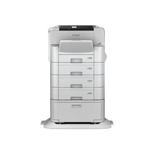 Epson WorkForce Pro WF-C8190DTWC - Printer - colour - Duplex - ink-jet - A3 - 4800 x 1200 dpi - up to 35 ppm (mono) / up to 35 ppm (colour) - capacity: 835 sheets - Gigabit LAN, NFC, USB 3.0, USB 2.0 host, Wi-Fi(ac)