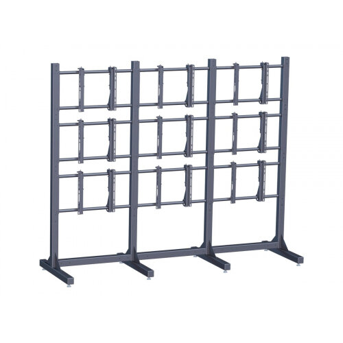 """Vogel's Professional PFF 7810 - Stand for 3x3 video wall - black - screen size: 46"""""""