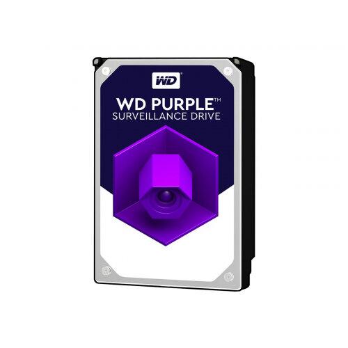 """WD Purple Surveillance Hard Drive WD121PURZ - Hard drive - 12 TB - internal - 3.5"""" - SATA 6Gb/s - 7200 rpm - buffer: 256 MB"""