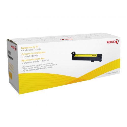 Xerox HP Color LaserJet CM6040 - Yellow - toner cartridge (alternative for: HP CB382A) - for HP Color LaserJet CM6030, CM6040, CP6015