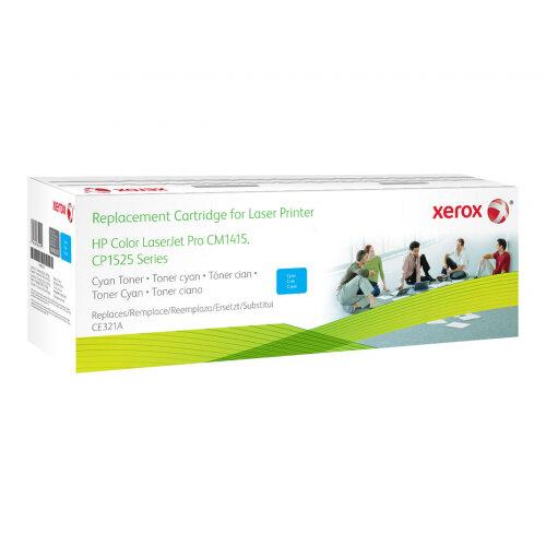 Xerox HP Colour LaserJet CM1525 - Cyan - toner cartridge (alternative for: HP 128A) - for HP Color LaserJet Pro CP1525n, CP1525nw; LaserJet Pro CM1415fn, CM1415fnw