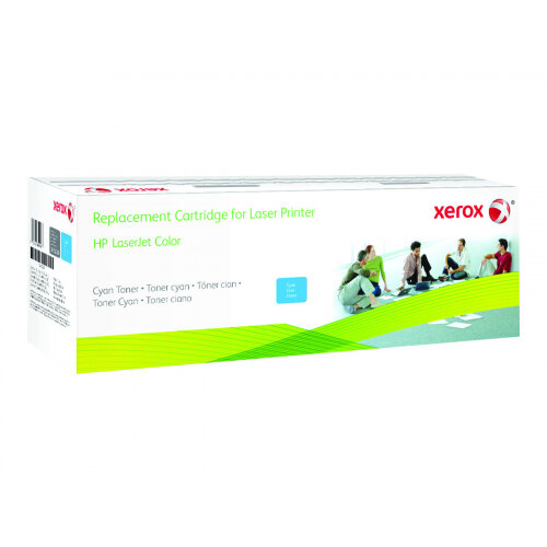 Xerox HP Colour LaserJet M476 - Cyan - toner cartridge (alternative for: HP 312A) - for HP Color LaserJet Pro MFP M476dn, MFP M476dw, MFP M476nw