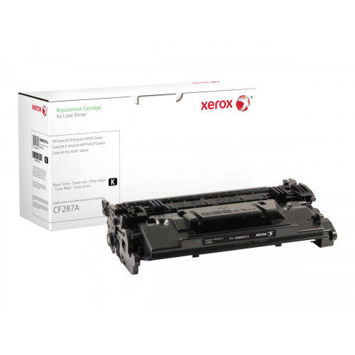 Xerox HP ENTERPRISE M506 - Black - toner cartridge (alternative for: HP CF287A) - for HP LaserJet Enterprise Flow MFP M527; LaserJet Managed MFP M527; LaserJet Pro M501
