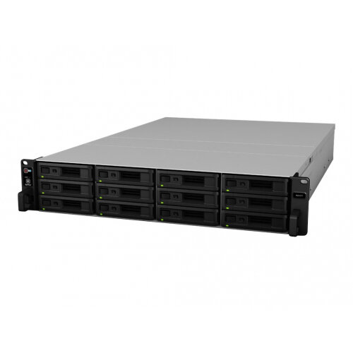 Synology RX1217 - Storage enclosure - 12 bays (SATA-600) - rack-mountable - 2U