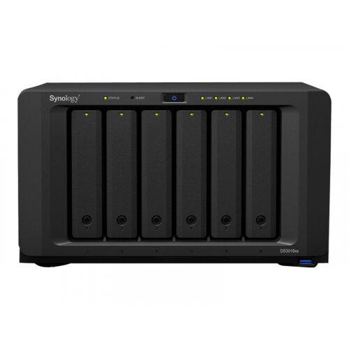 Synology Disk Station DS3018xs - NAS server - 6 bays - SATA 6Gb/s - RAID 0, 1, 5, 6, 10, JBOD, RAID F1 - RAM 8 GB - Gigabit Ethernet - iSCSI