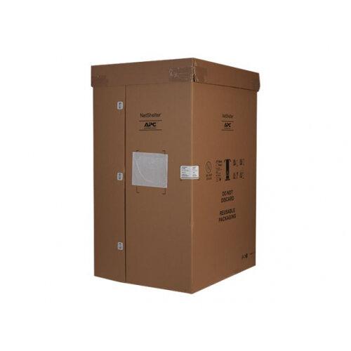 "APC NetShelter SX Enclosure with Sides - Rack - cabinet - black - 42U - 19"""