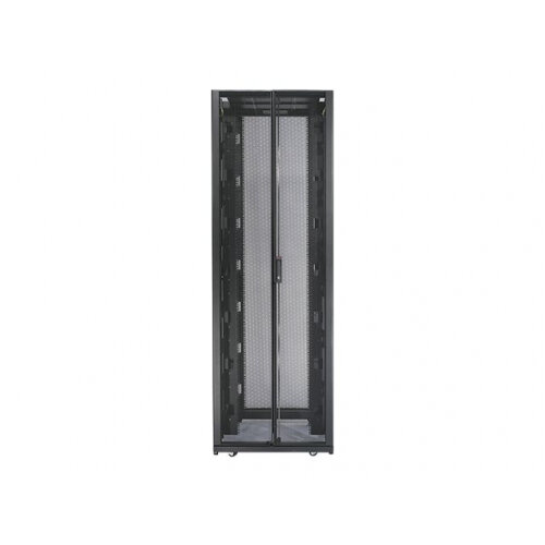 "APC NetShelter SX - Shock Packaging - rack - cabinet - black - 42U - 19"""