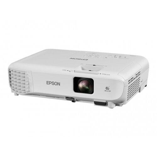Epson EB-W05 - 3LCD projector - portable - 3300 lumens (white) - 3300 lumens (colour) - WXGA (1280 x 800) - 16:10 - 720p
