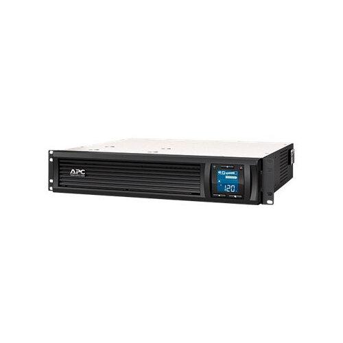 APC Smart-UPS C - UPS (rack-mountable) - AC 230 V - 600 Watt - 1000 VA - USB, serial - output connectors: 6 - 2U - black - with APC SmartConnect