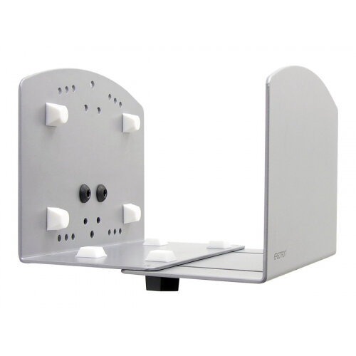 Ergotron Vertical Universal CPU Holder - System unit holder - silver - for P/N: 45-353-026, 45-354-026