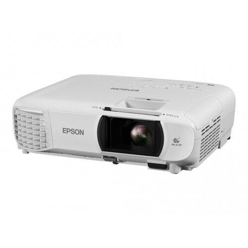 Epson EH-TW650 - 3LCD projector - portable - 3100 lumens (white) - 3100 lumens (colour) - Full HD (1920 x 1080) - 16:9 - 1080p - 802.11n wireless