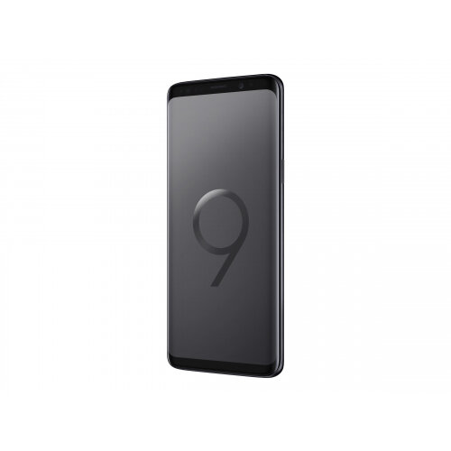 Samsung Galaxy S9 - Smartphone - 4G LTE - 64 GB - microSDHC slot, - microSDXC slot - TD-SCDMA / UMTS / GSM - 5.8&uot; - 2960 x 1440 pixels (570 ppi) - Super AMOLED - RAM 4 GB - 12 MP (8 MP front camera) - Android - midnight black