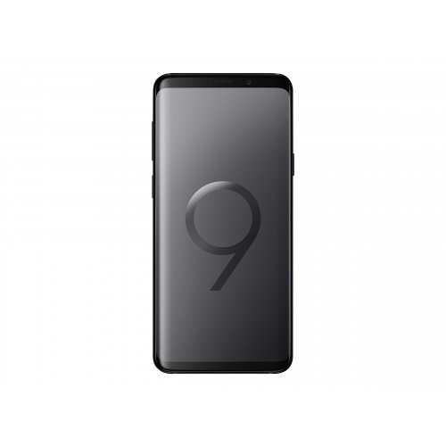 Samsung Galaxy S9+ - Smartphone - 4G LTE - 128 GB - microSDHC slot, - microSDXC slot - TD-SCDMA / UMTS / GSM - 6.2&uot; - 2960 x 1440 pixels (529 ppi) - Super AMOLED - RAM 6 GB (8 MP front camera) - 2x rear cameras - Android - midnight black