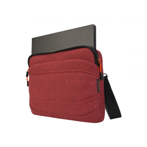 Targus Groove X2 Slimcase - Notebook carrying case - 13&uot; - dark coral