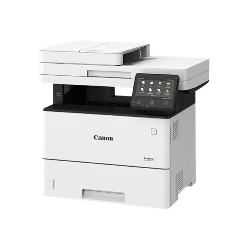Canon i-SENSYS MF522x - Multifunction printer - B/W - laser - A4 (210 x 297 mm), Legal (216 x 356 mm) (original) - A4/Legal (media) - up to 43 ppm (copying) - up to 43 ppm (printing) - 650 sheets - USB 2.0, Gigabit LAN, Wi-Fi(n)