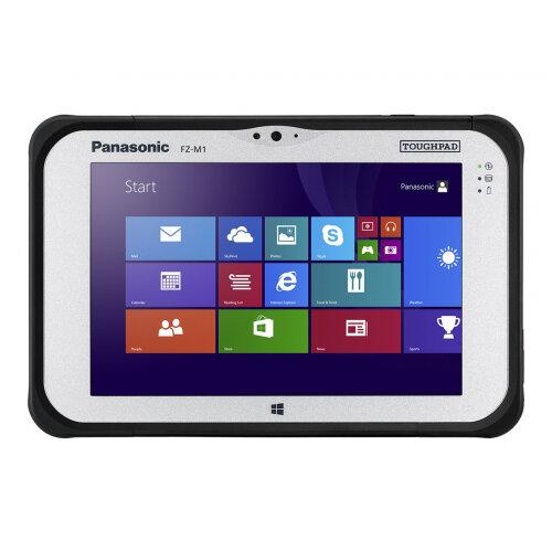 Panasonic Toughpad FZ-M1 - Tablet - Core i5 7Y57 / 1.2 GHz - Win 10 Pro 64-bit - 4 GB RAM - 128 GB SSD - 7&uot; IPS touchscreen 1280 x 800 - HD Graphics 600 - Wi-Fi, Bluetooth - rugged