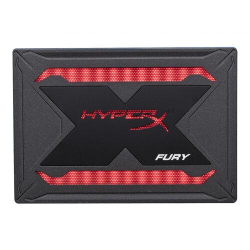 HyperX FURY RGB - Solid state drive - 480 GB - internal - 2.5&uot; - SATA 6Gb/s