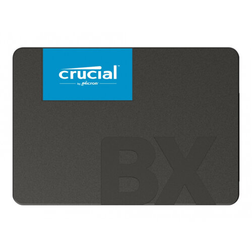 Crucial BX500 - Solid state drive - 480 GB - internal - 2.5&uot; - SATA 6Gb/s