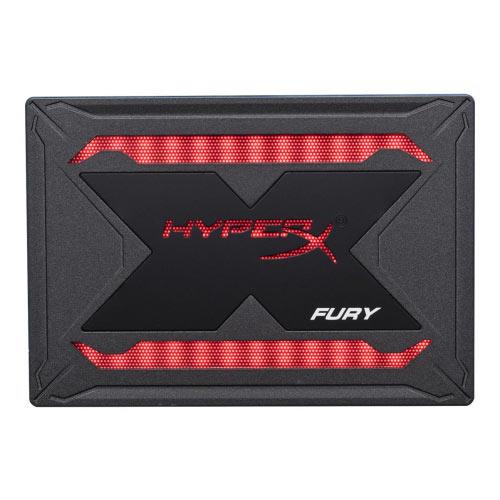 HyperX FURY RGB Bundle - Solid state drive - 240 GB - internal - 2.5&uot; - SATA 6Gb/s - black
