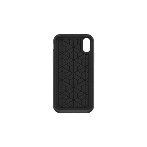 OtterBox Symmetry Series - Back cover for mobile phone - polycarbonate, synthetic rubber - black - for Apple iPhone XR