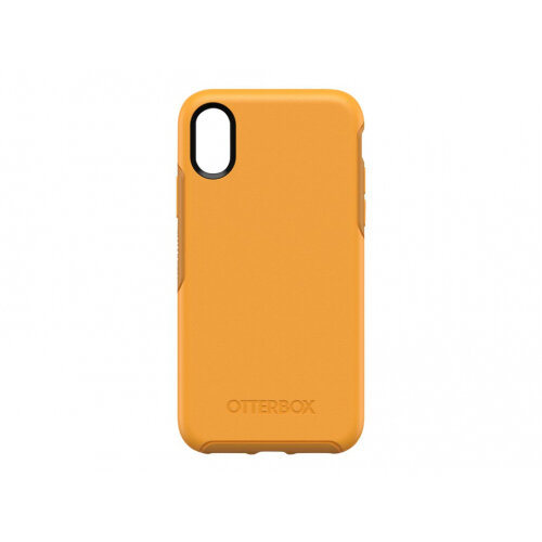 OtterBox Symmetry Series Apple iPhone X/XS - Back cover for mobile phone - polycarbonate, synthetic rubber - aspen gleam - for Apple iPhone X, XS