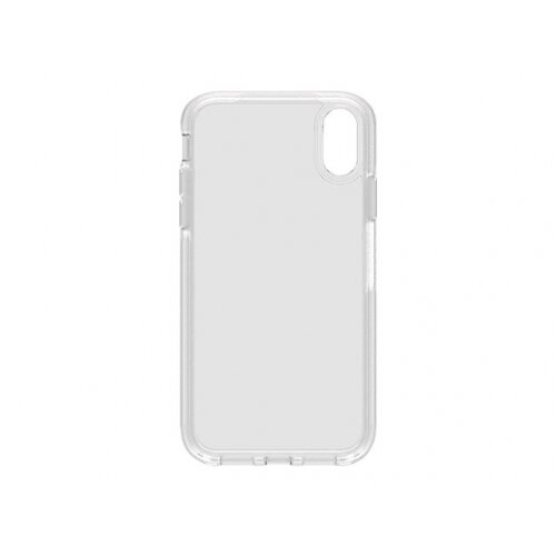 OtterBox Symmetry Series Clear - Back cover for mobile phone - polycarbonate, synthetic rubber - clear - for Apple iPhone XR