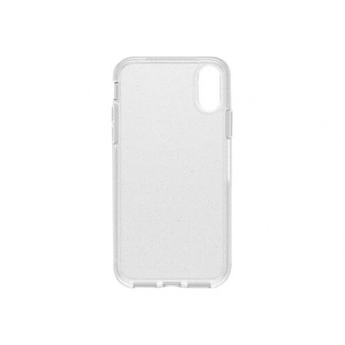 OtterBox Symmetry Series Clear - Back cover for mobile phone - polycarbonate, synthetic rubber - stardust - for Apple iPhone XS