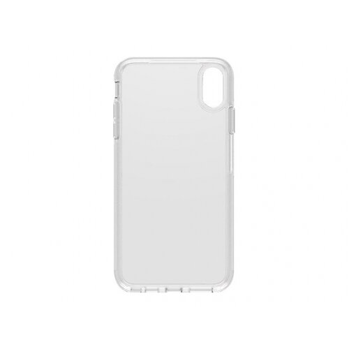 OtterBox Symmetry Series - Back cover for mobile phone - polycarbonate, synthetic rubber - clear - for Apple iPhone XS Max