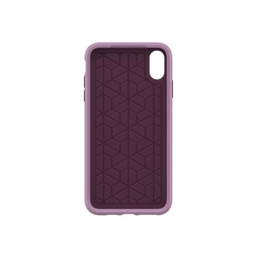 OtterBox Symmetry Series Apple iPhone XS Max - Back cover for mobile phone - polycarbonate, synthetic rubber - tonic violet - for Apple iPhone XS Max