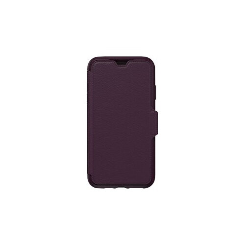 OtterBox Strada Series Folio Apple iPhone Xs Max - Flip cover for mobile phone - genuine leather, polycarbonate - royal blush - for Apple iPhone XS Max