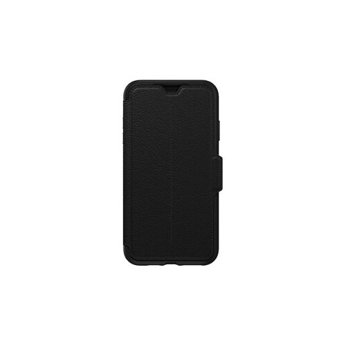 OtterBox Strada Series Folio Apple iPhone Xs Max - Flip cover for mobile phone - genuine leather, polycarbonate - shadow - for Apple iPhone XS Max