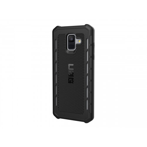 UAG Rugged Case for Samsung Galaxy A6 (2018) - Outback Black - Back cover for mobile phone - rubber - black - for Samsung Galaxy A6 (2018)