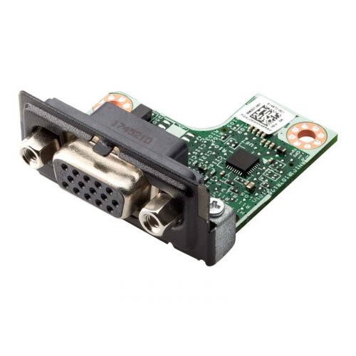 HP Flex IO Card - VGA port - for EliteDesk 705 G4, 800 G4; ProDesk 400 G4, 400 G5, 600 G4; Workstation Z2, Z2 G4