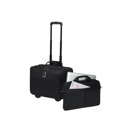 DICOTA Eco Multi Roller SELECT - Notebook carrying backpack/trolley - 17.3&uot; - black