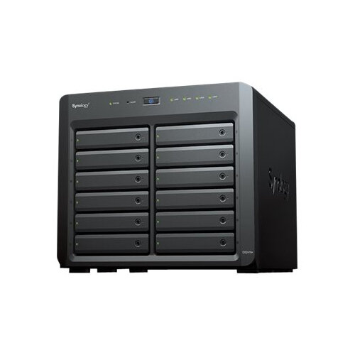 Synology Disk Station DS2419+ - NAS server - 12 bays - SATA 6Gb/s - RAID 0, 1, 5, 6, 10, JBOD - RAM 4 GB - Gigabit Ethernet - iSCSI