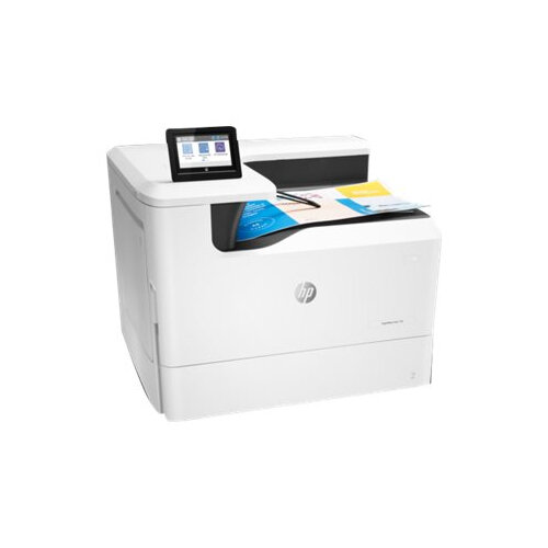 HP PageWide Color 755dn - Printer - colour - Duplex - page wide array - A3 - 1200 x 1200 dpi - up to 55 ppm (mono) / up to 55 ppm (colour) - capacity: 550 sheets - USB 2.0, LAN, Wi-Fi(n), USB 2.0 host