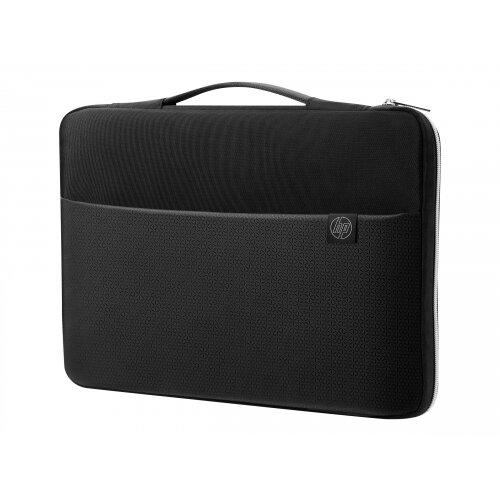 HP Carry Sleeve - Notebook sleeve - 14&uot; - black, silver - for HP 14; Chromebook 14; Envy 13; ENVY x360; Pavilion 13, 14; Pavilion x360; Spectre x360