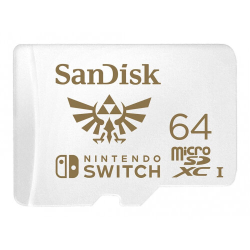 SanDisk Nintendo Switch - Flash memory card - 64 GB - UHS-I U3 - microSDXC UHS-I - for Nintendo Switch