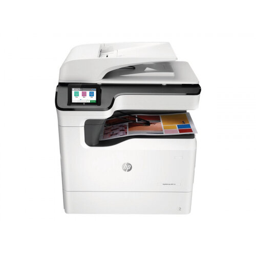 HP PageWide Color MFP 774dn - Multifunction printer - colour - page wide array - 297 x 864 mm (original) - A3/Ledger (media) - up to 35 ppm (copying) - up to 55 ppm (printing) - 650 sheets - USB 2.0, Gigabit LAN, USB 2.0 host