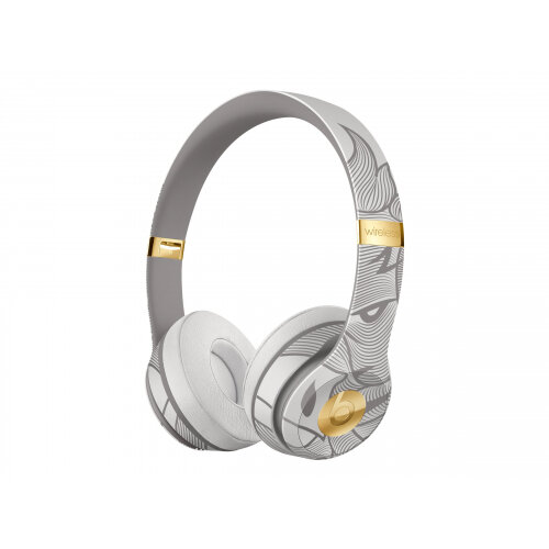 Beats Solo3 - New Year Special Edition - headphones with mic - on-ear - Bluetooth - wireless - blade grey - for 10.5-inch iPad Pro; 11-inch iPad Pro; 9.7-inch iPad; iPhone 7, 8, X, XR, XS, XS Max