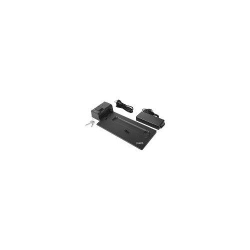 Lenovo ThinkPad Pro Docking Station - Docking station - 2 x DP - 135 Watt - for ThinkPad A285 20MW, 20MX; A485 20MU, 20MV; P52s 20LB, 20LC; T480 20L5, 20L6; T480s 20L7, 20L8; T580 20L9, 20LA; X1 Carbon (6th Gen) 20KG, 20KH; X280 20KE, 20KF