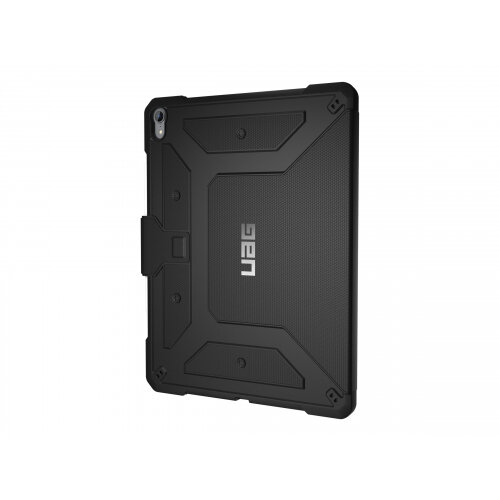 UAG Rugged Case for iPad Pro 12.9-inch (3rd Gen, 2018) - Metropolis Black - Flip cover for tablet - black - for Apple 12.9-inch iPad Pro (3rd generation)