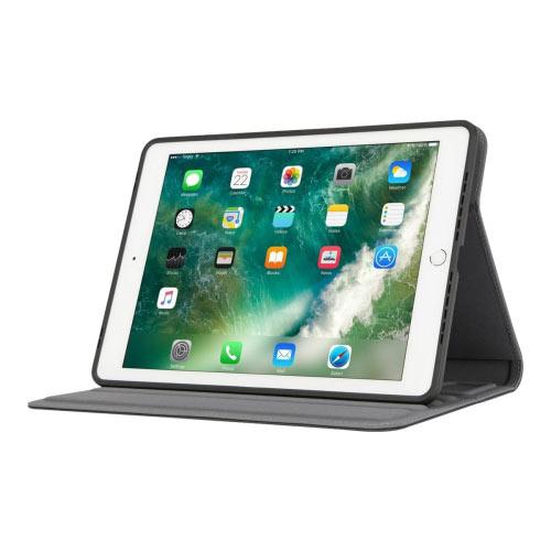 Targus VersaVu - Flip cover for tablet - polyurethane - blue - 9.7&uot; - for Apple 9.7-inch iPad (5th generation, 6th generation); 9.7-inch iPad Pro; iPad Air; iPad Air 2