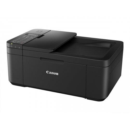 Canon PIXMA TR4550 - Multifunction printer - colour - ink-jet - A4 (210 x 297 mm), Legal (216 x 356 mm) (original) - A3 (media) - up to 8.8 ipm (printing) - 100 sheets - 33.6 Kbps - USB 2.0, Wi-Fi(n) - black